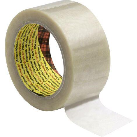 Ruban adhésif demballage Scotch® 3M 7000095286 transparent (L x l) 66 m x 50 mm caoutchouc 66 m