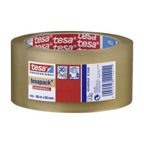 Ruban adhésif demballage tesa 04024-00202-04 tesapack® 4024 transparent (L x l) 66 m x 38 mm 1 rouleau(x)