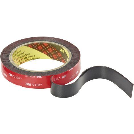 Ruban adhésif double-face VHB™ 5952F 3M 5952F/193 noir (L x l) 3 m x 19 mm acrylique C78415