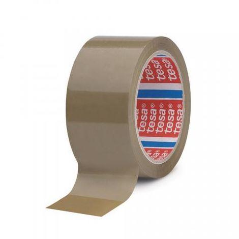 Ruban adhésif emballage PP havane, 50 mm x 100 m - tesa® 04089