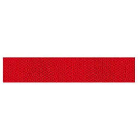 Ruban adhesif exterieur reflechissant 1m - Rouge