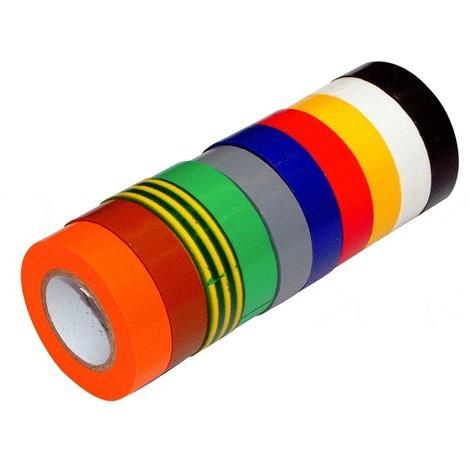 Ruban adhésif PVC Isolant Panaché 10 couleurs