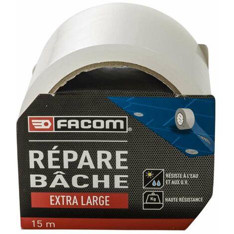 Ruban adhésif répare bâche 15m x 75mm Facom