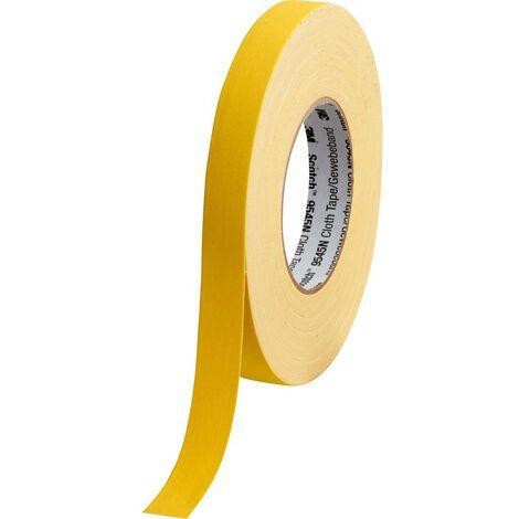 Ruban adhésif toilé 3M 9545NY19 Scotch® jaune (L x l) 50 m x 19 mm 1 pc(s)