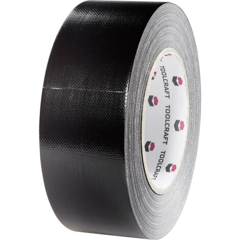 Ruban adhésif toilé Gaffer TOOLCRAFT 54B48L20SC noir (L x l) 20 m x 48 mm adhésif thermofusible 1 pc(s)