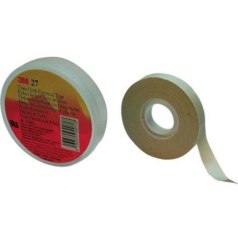 Ruban adhésif toilé Scotch® 27 3M SCOTCH27U-19X20 blanc (L x l) 20 m x 19 mm caoutchouc 1 pc(s)