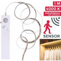 Ruban bande LED avec détecteur de mouvements éclairage armoire bande lumineuse