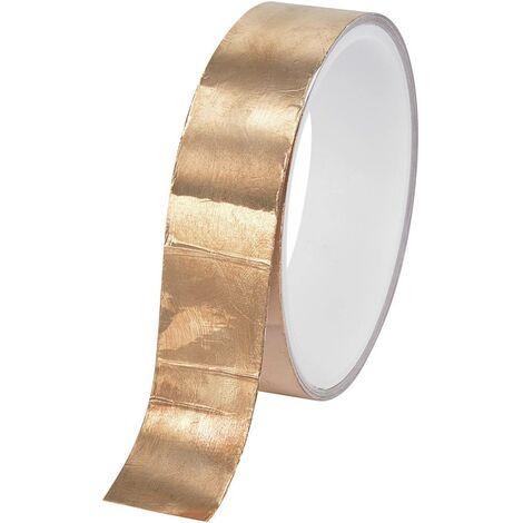 Ruban cuivre adhésif TRU COMPONENTS CFT-25/10M 1564013 cuivre (L x l) 10 m x 25 mm acrylique 10 m