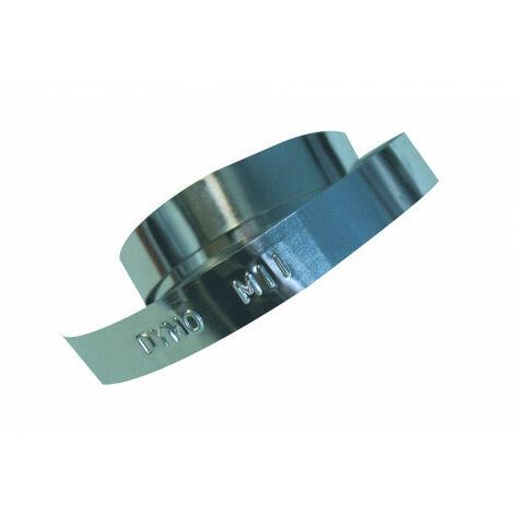Ruban d'aluminium sans adhésif 12mmx6,40m. dymo