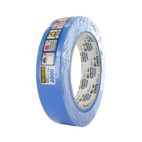 Ruban de masquage 3M 2090 24mm x 50m bleu x 5 - Bleu
