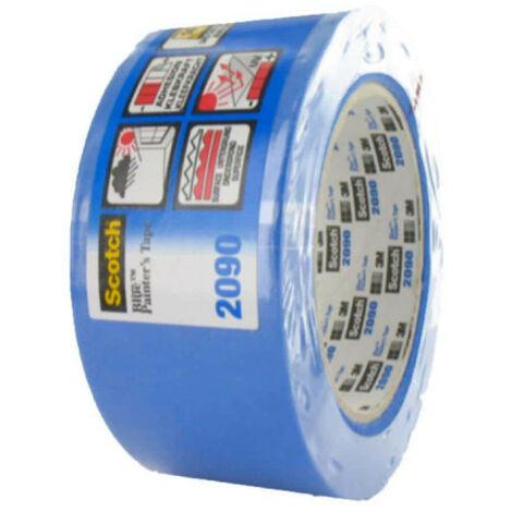 Ruban de masquage 3M 2090 48mm x 50m bleu x 5 - Bleu