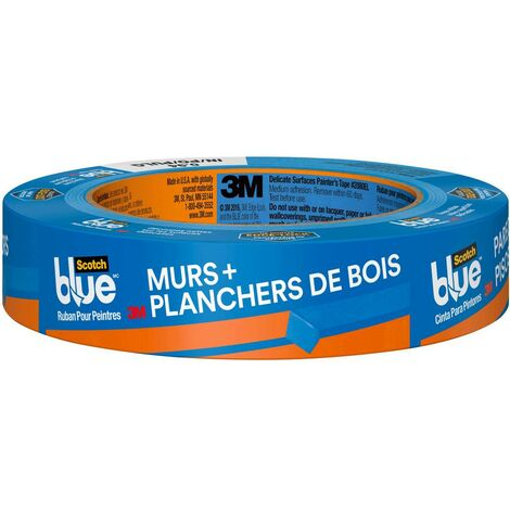 Ruban de masquage pour peinture 3M 2080 2080DABE36 ScotchBlue™ bleu (L x l) 41 m x 36 mm 1 pc(s)