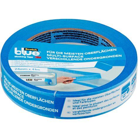 Ruban de masquage pour peinture 3M 2090DABE24 ScotchBlue™ bleu (L x l) 41 m x 24 mm 1 pc(s) Q116232