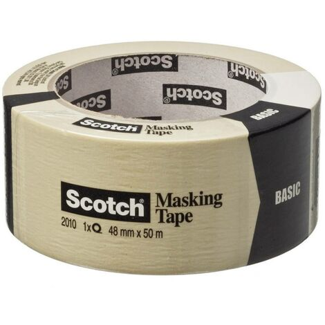 Ruban de masquage Scotch® 3M BASIC-4850 beige (L x l) 50 m x 48 mm 1 pc(s)
