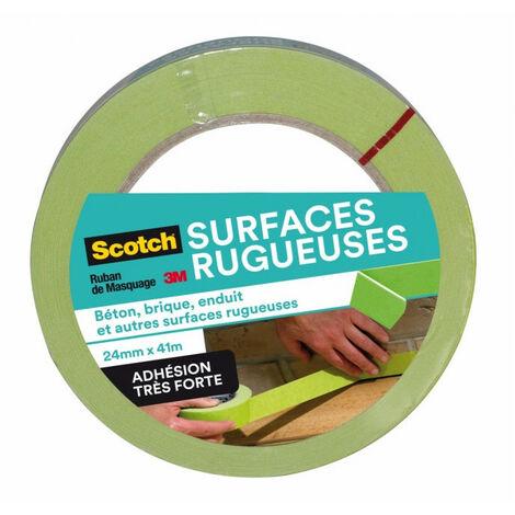 Ruban de Masquage Surfaces Rugueuses Scotch 41m x 24mm