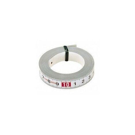Ruban de mesure adhesive 2m largeur13mm TAJIMA