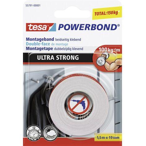 Ruban de montage tesa® POWERBOND tesa 55791-01 (L x l) 1.5 m x 19 mm 1.5 m