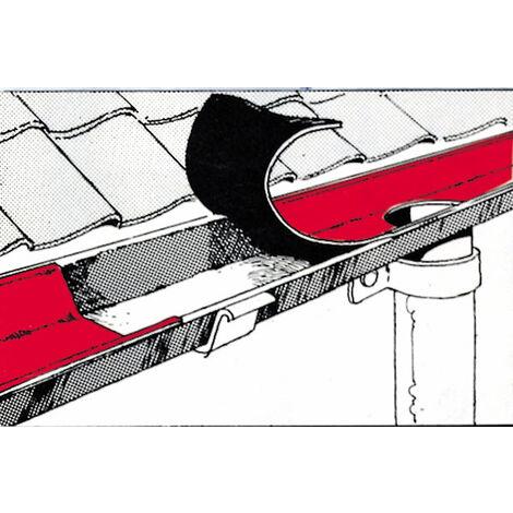 Ruban de réparation de toiture 150 mm, 10 m de long, peinture au plomb, autocollant