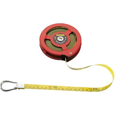 Ruban Décajour Stanley - Longueur 20 m - Largeur 12,7 mm