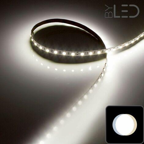 Ruban IP65 5050 - Blanc - 14,4W/m - 60 LED/m - 5m | Blanc Lumière du jour - 60 LED/m - IP65 - 14.4 W/m