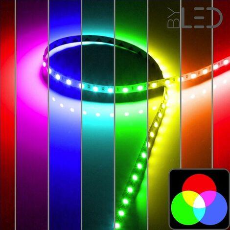 Ruban IP68 5050 - RGB - 7,2W ou 14,4W/m - 30 ou 60 LED/m - 5m | 30 LED/m - RGB - IP68 - 7.2 W/m