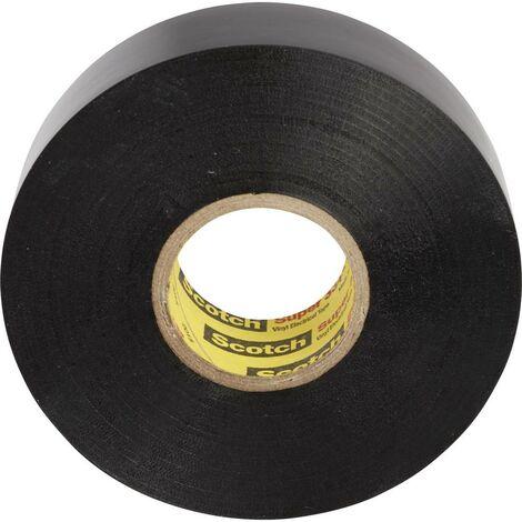 Ruban isolant 3M SUPER33+-50X33 Scotch® noir (L x l) 33 m x 50 mm 33 m