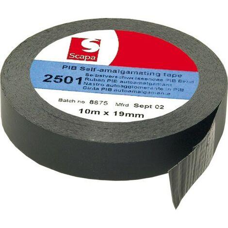 Ruban isolant auto-vulcanisant 19x0,5mm 10 mètres 2501-19-10