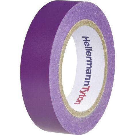 Ruban isolant HelaTape Flex 15 HellermannTyton 710-00109 violet (L x l) 10 m x 15 mm 1 pc(s) S19673