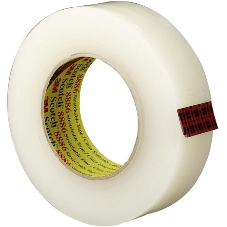 Ruban isolant Scotch® 8886 3M 88863655 transparent (L x l) 55 m x 36 mm résine caoutchouc adhésive 1 pc(s)