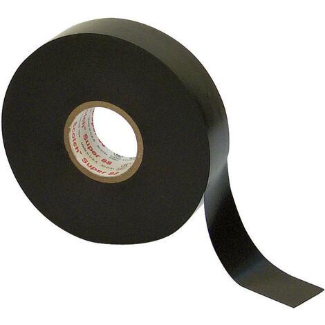 Ruban isolant Scotch® Super 88 3M SUPER88-19X6 noir (L x l) 6 m x 19 mm 1 pc(s)