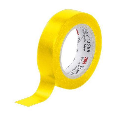 Ruban isolant Temflex 1500 3M XE003411461 jaune (L x l) 10 m x 15 mm 10 m