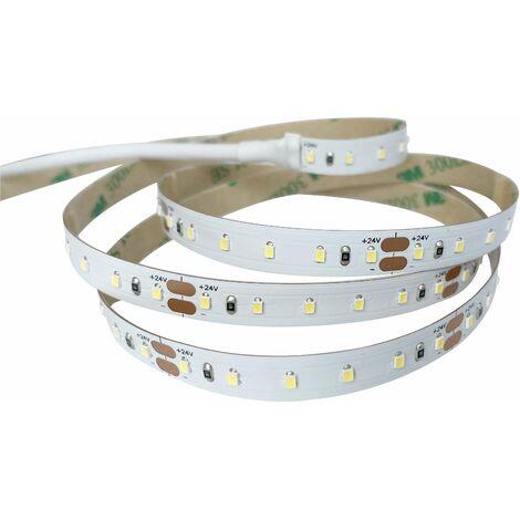 Ruban LED 120 LED/m 9W/m DC24V LED 2216 - 10m - Blanc du Jour 6000K