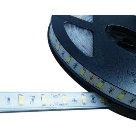 Ruban LED 12V DC SMD 5630 75W IP67 5M