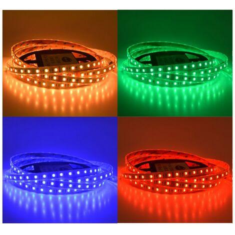 Ruban LED 14.4 Watts /m - RGB - Rouleau 5M 24V