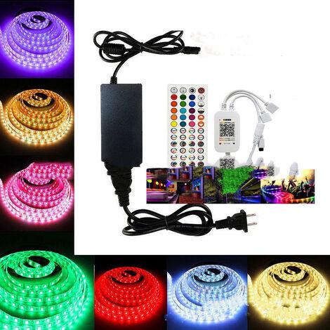 Ruban LED 20M Govee Bande LED RGB Lumineuse 5050 APP Intelligent Synchronisation Musicale RGBIC Etanche Changement