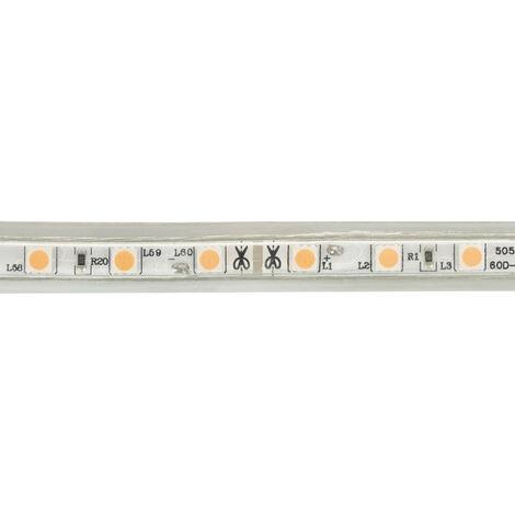Ruban LED 220V AC 60 LED/m Violet