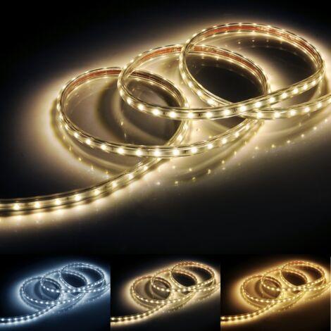 Ruban LED 220V IP65 2835 120LED/m (Vendu sur mesure au mètre)