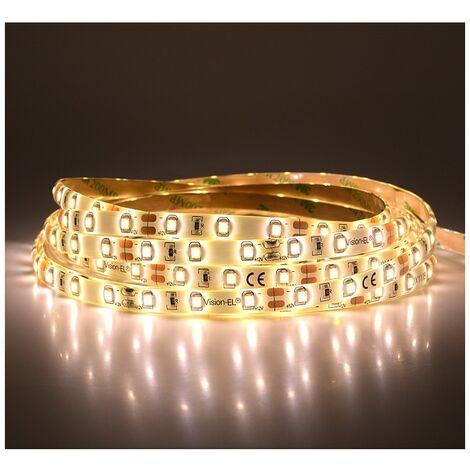 Ruban LED 4,8 Watts /m Blanc - Rouleau 5M 12V