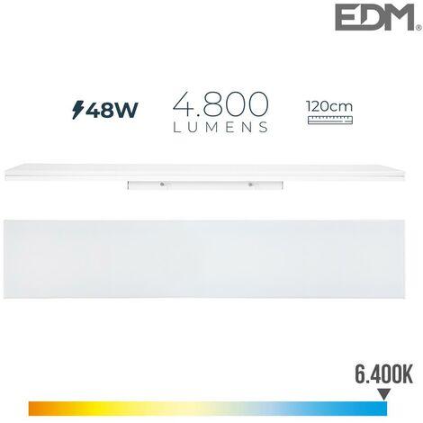 Ruban led 48W 120cm 6400k lumière froide 4800 lm EDM 31752