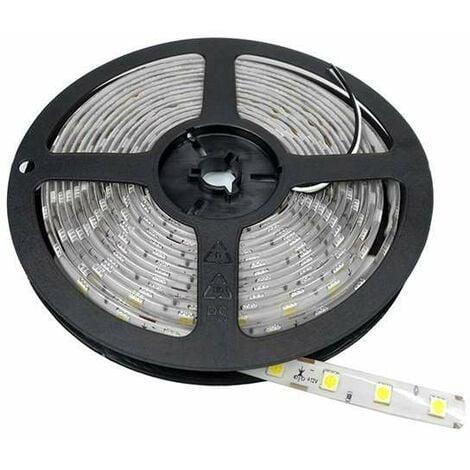 Ruban LED 5m étanche 60LED/m 14,4W/m - Blanc Naturel 4000K