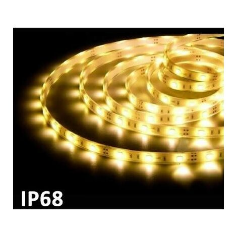 Ruban LED 5m SMD5050 7.2W / m 2700k IP68 24V GSC 1504597