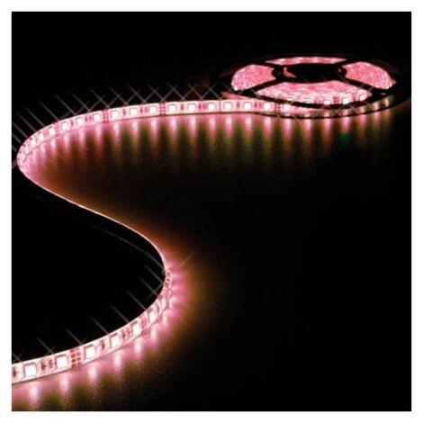 Ruban LED Blanc Neutre 12V 10mm x 5m adhésif 300 LEDS IP61