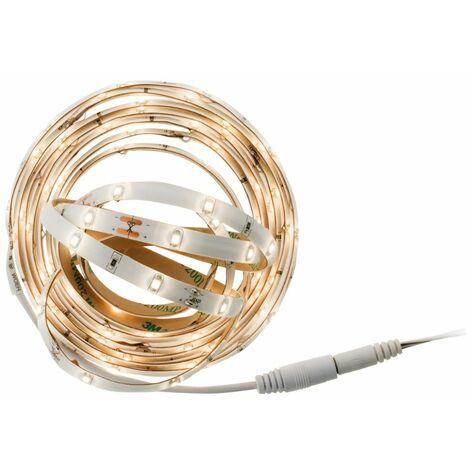 Ruban LED décoratif 3 mètres - Blanc ou multicolore