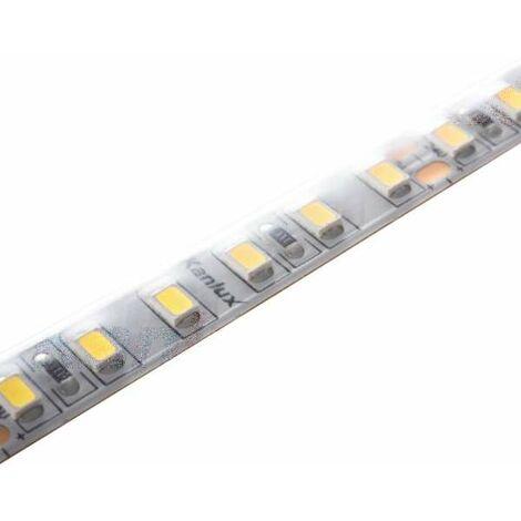 Ruban LED étanche IP65 16W/m 120 LED/m longueur 5m - Blanc du Jour 6000K