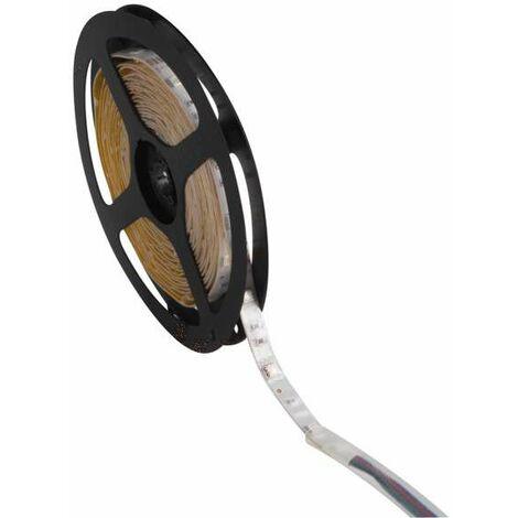 Ruban LED étanche IP65 7,2W/m longueur 5m - RGB Multicolore