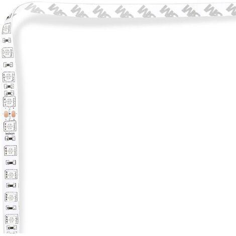 Ruban LED ledxon LFBML-SC525-24V-6S167-20 9009082 vert N/A