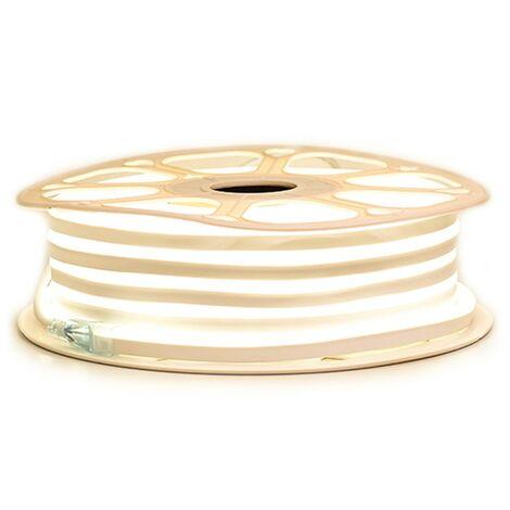 """Ruban LED """"néon flexible"""" Professionnel EPISTAR 2835 120 LED/m de 25 ou 50 mètres blanc Chaud étanche (IP68)"""