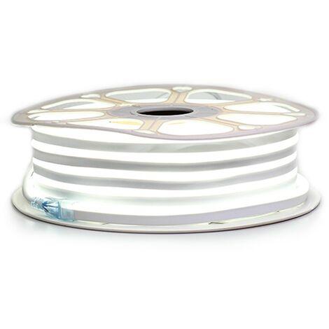 """Ruban LED """"néon flexible"""" Professionnel EPISTAR 2835 120 LED/m de 25 ou 50 mètres blanc Froid étanche (IP68)"""