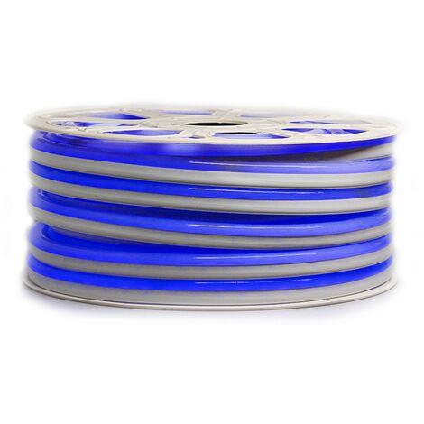 """Ruban LED """"néon flexible"""" Professionnel EPISTAR 2835 120 LED/m de 25 ou 50 mètres bleu étanche (IP68)"""