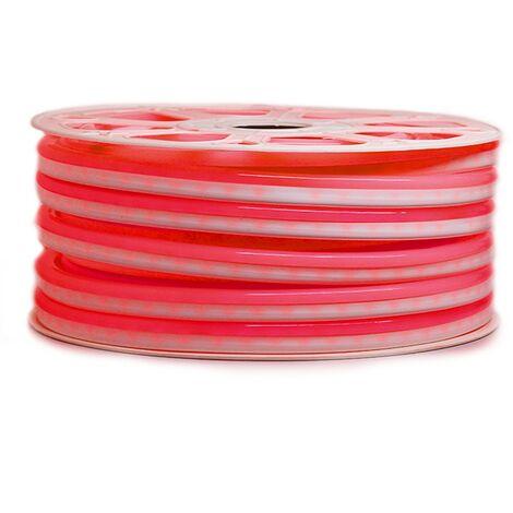 """Ruban LED """"néon flexible"""" Professionnel EPISTAR 2835 120 LED/m de 25 ou 50 mètres rouge étanche (IP68)"""